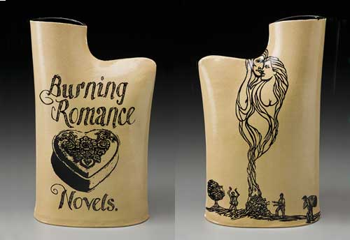 Burning Romance Novels